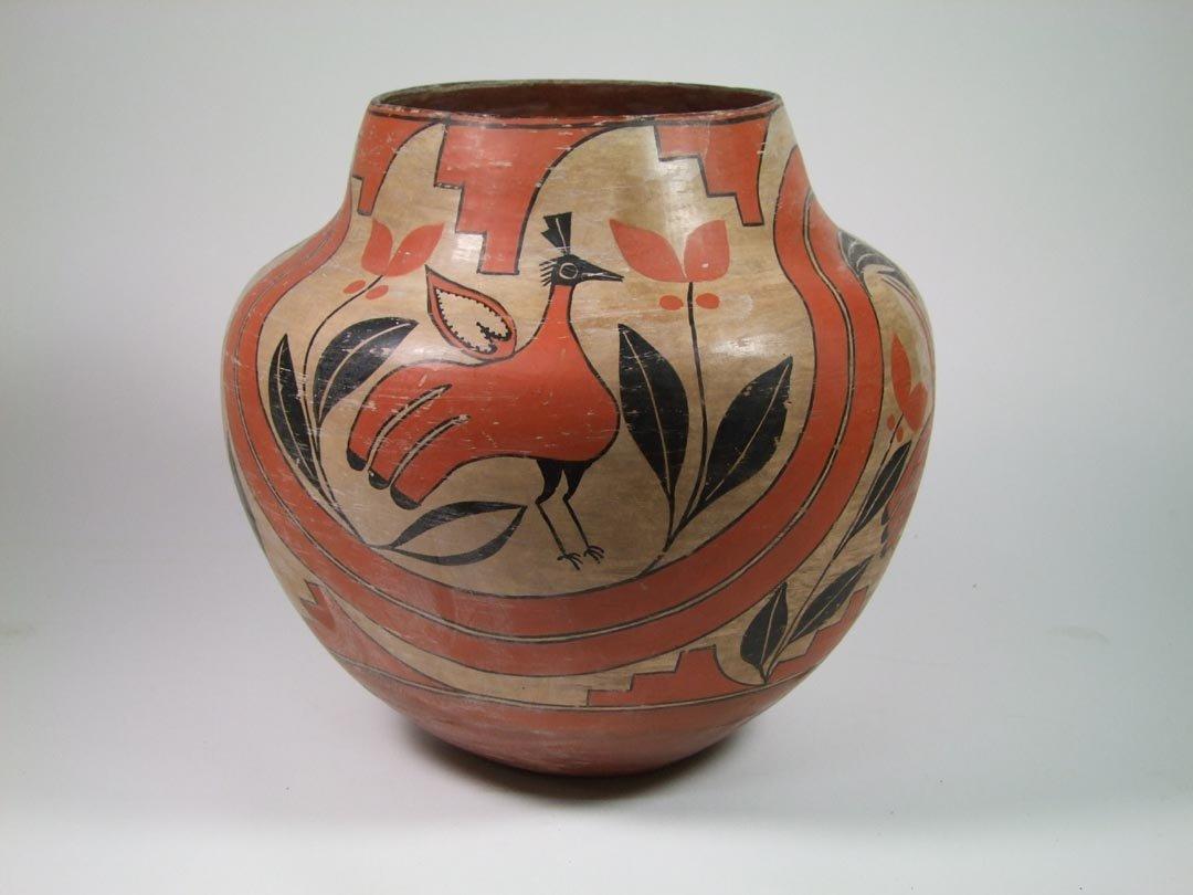 Zia Pueblo Bird Olla