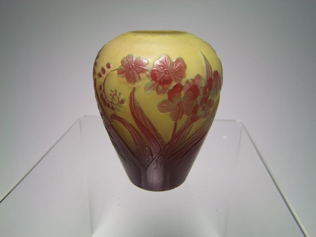 "4"" Galle Cameo Vase"