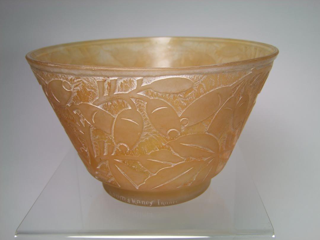 Art Deco Daum Bowl