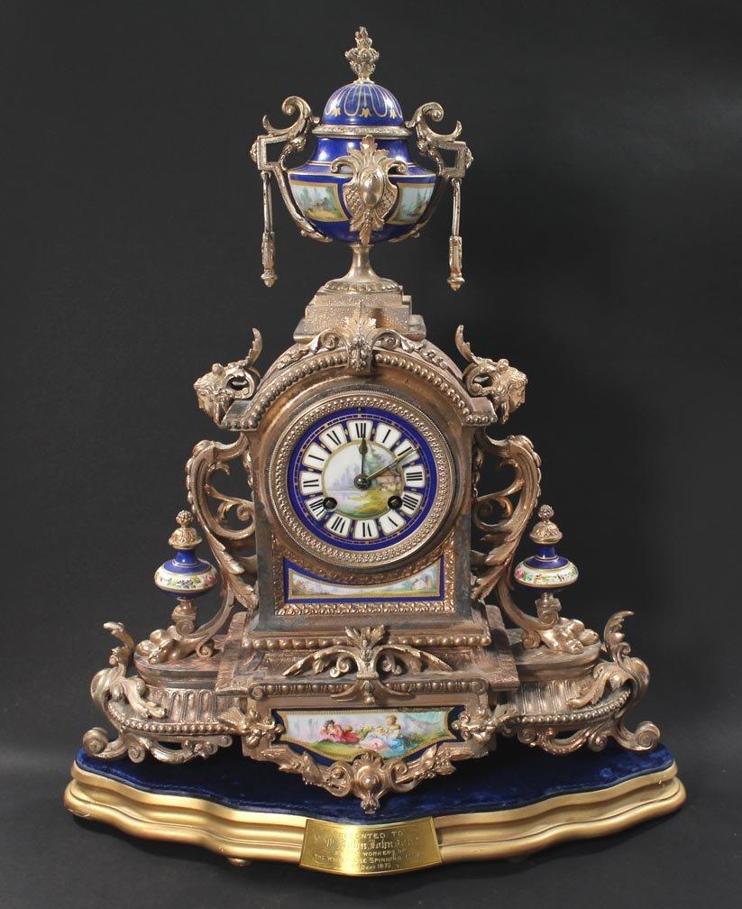 Brunfaut 19th Century Clock