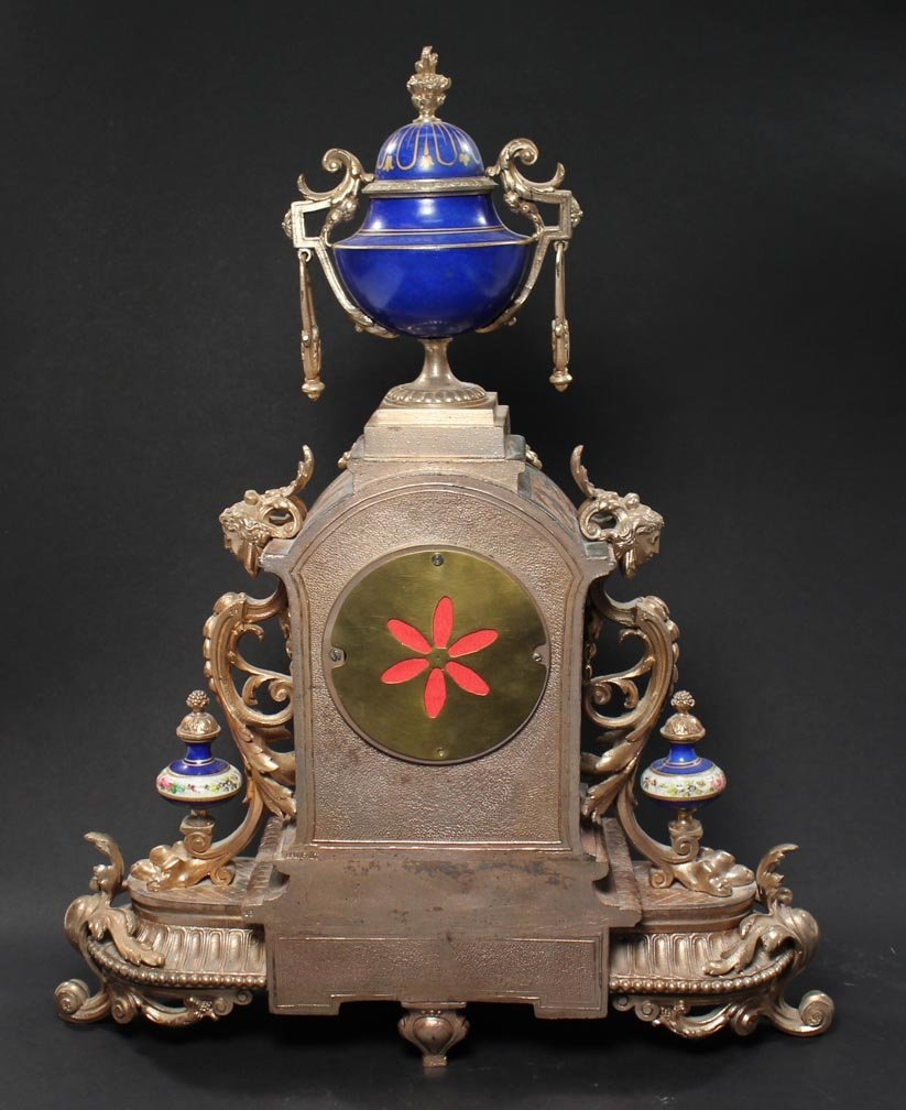 Brunfaut 19th Century Clock - 2