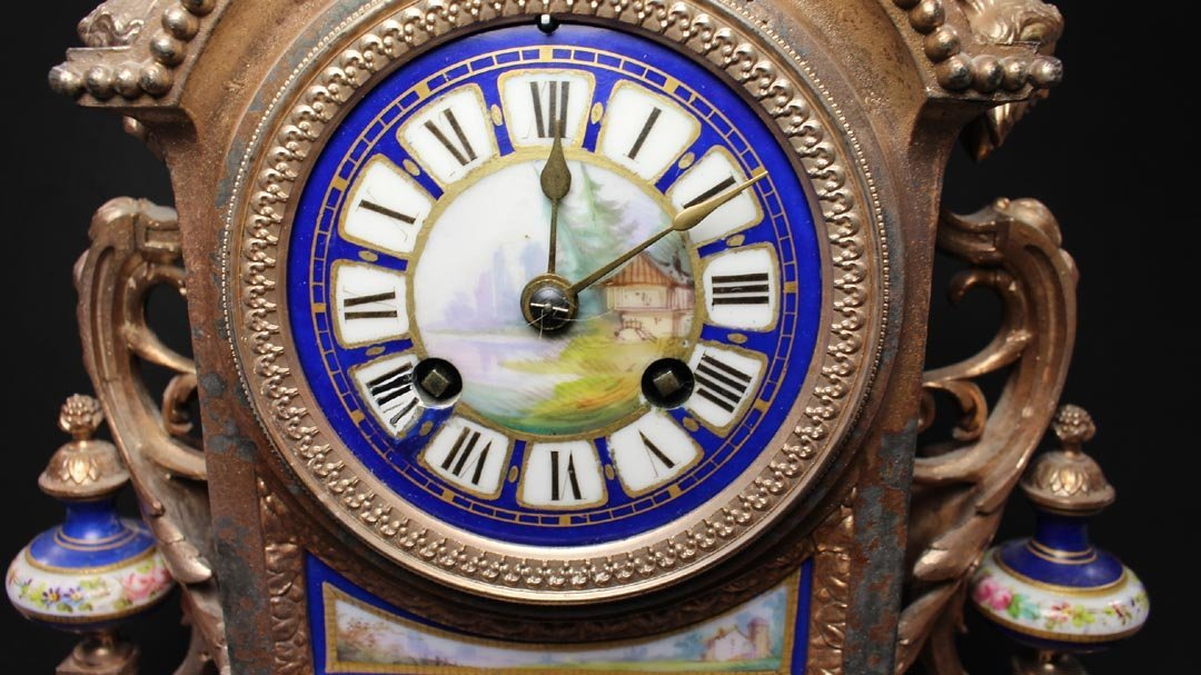 Brunfaut 19th Century Clock - 3