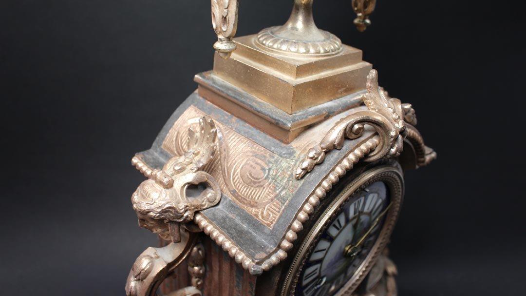 Brunfaut 19th Century Clock - 5