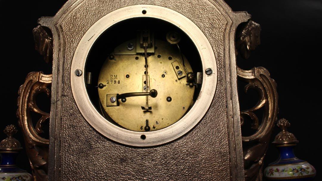 Brunfaut 19th Century Clock - 7