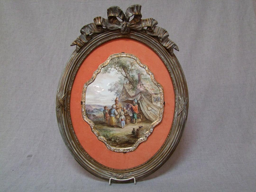 French Painting On Porcelain