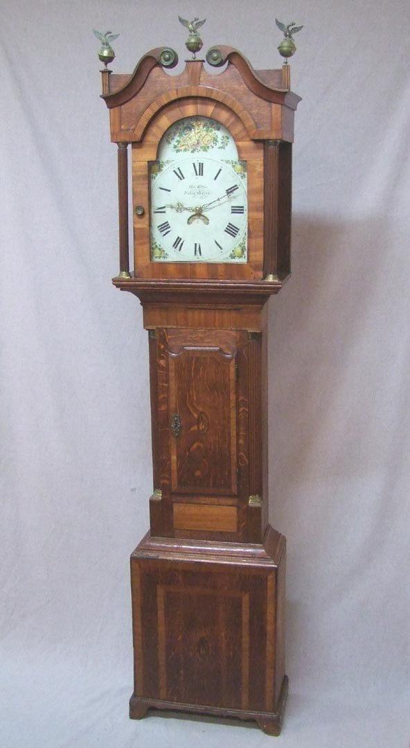 English George Ellis Grandfather Clock