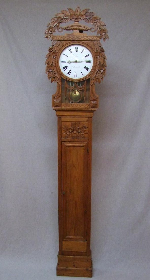Early 19th Century French Tall Case Clock