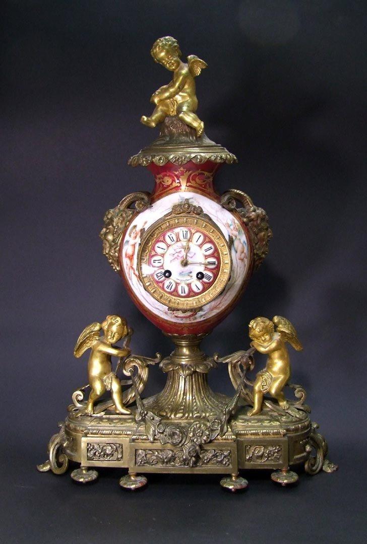 Etienne Maxant Paris Clock