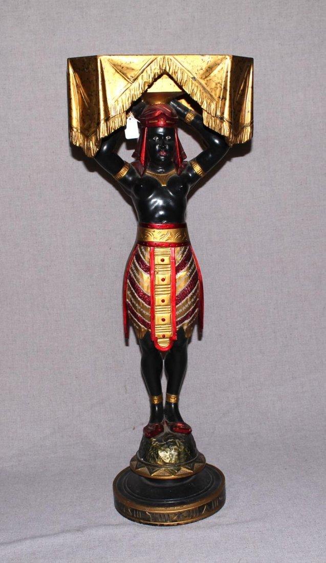 Female Blackamoor Pedestal