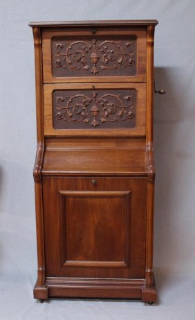 Imperial Symphonion Upright Music Box