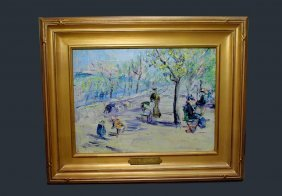 Painting Attributed To Gabriele Munter