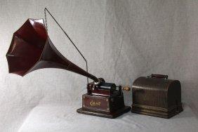 Edison Red Head Gem Phonograph