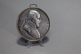 John Adams Indian Peace Medal