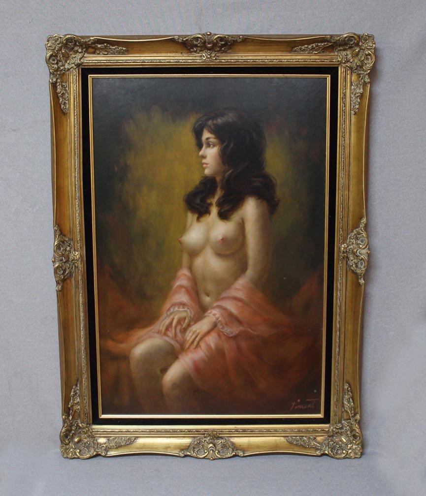 Larry Vincent Garrison Oil Painting