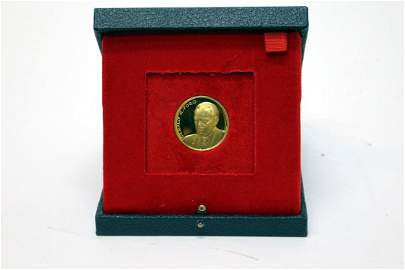 18K Gold Gerald Ford Presidential Inaugural Medal