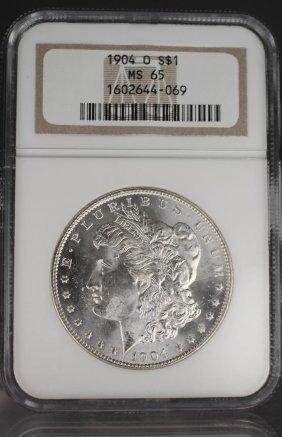 1904-o Morgan Dollar Ms65