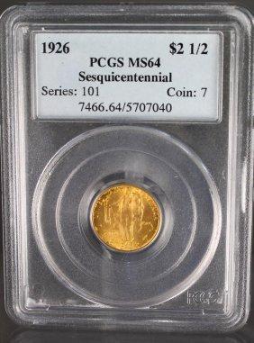 1926 Sesquicentennial 2 1/2 Dollar Gold Commemorative