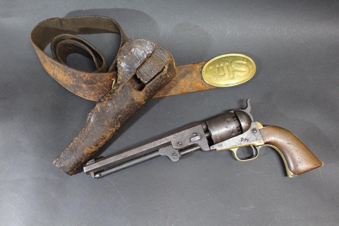 Civil War Colt 1851 Navy Revolver
