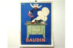 Linen Backed Leonetto Cappiello Poster