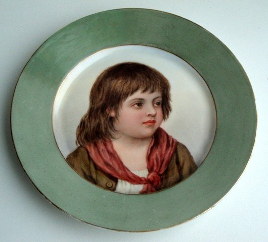 2: A painted plate