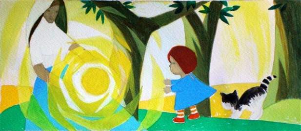 165: Childrens book illustration