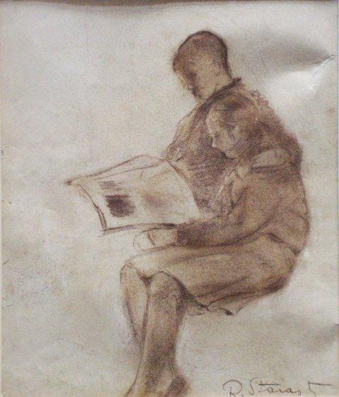 17: Starosts Roberts - Reading a book