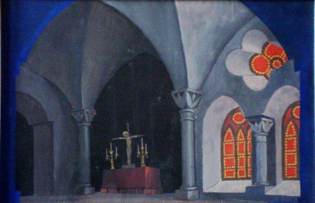 25: Dajevskis Evalds - Scenerysketch.Church