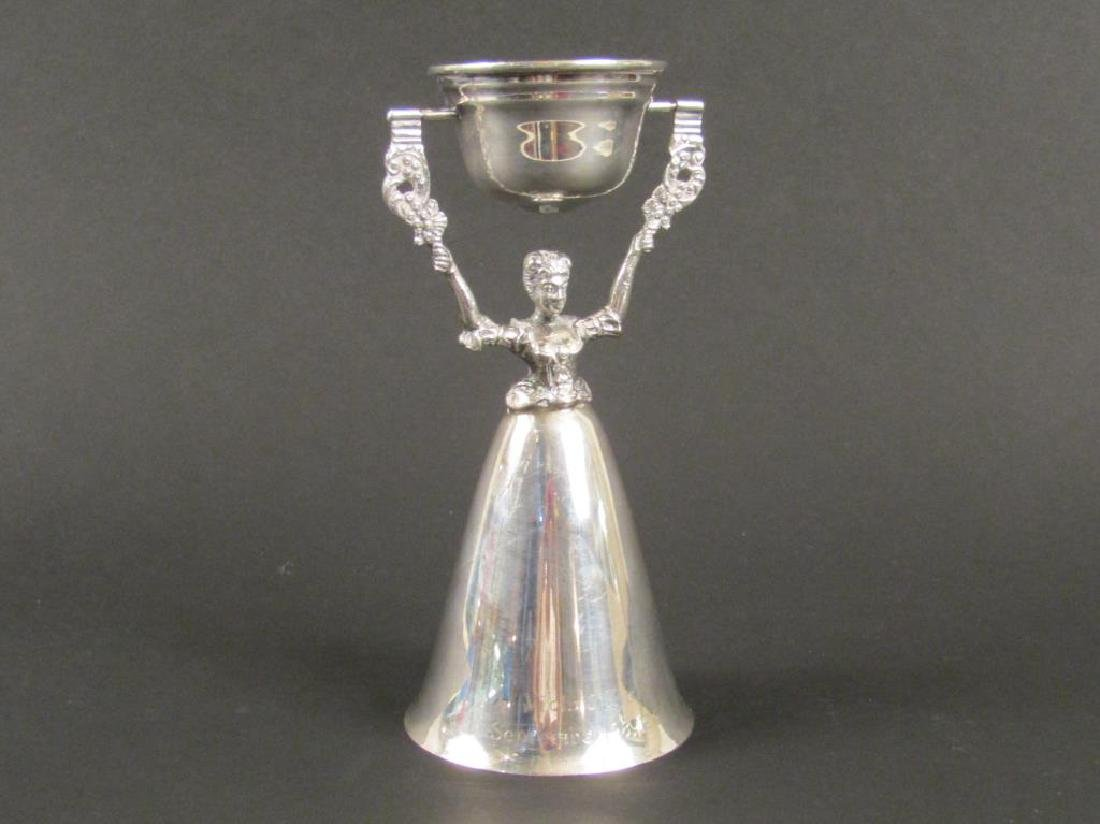 Silver Plated Wedding Cup