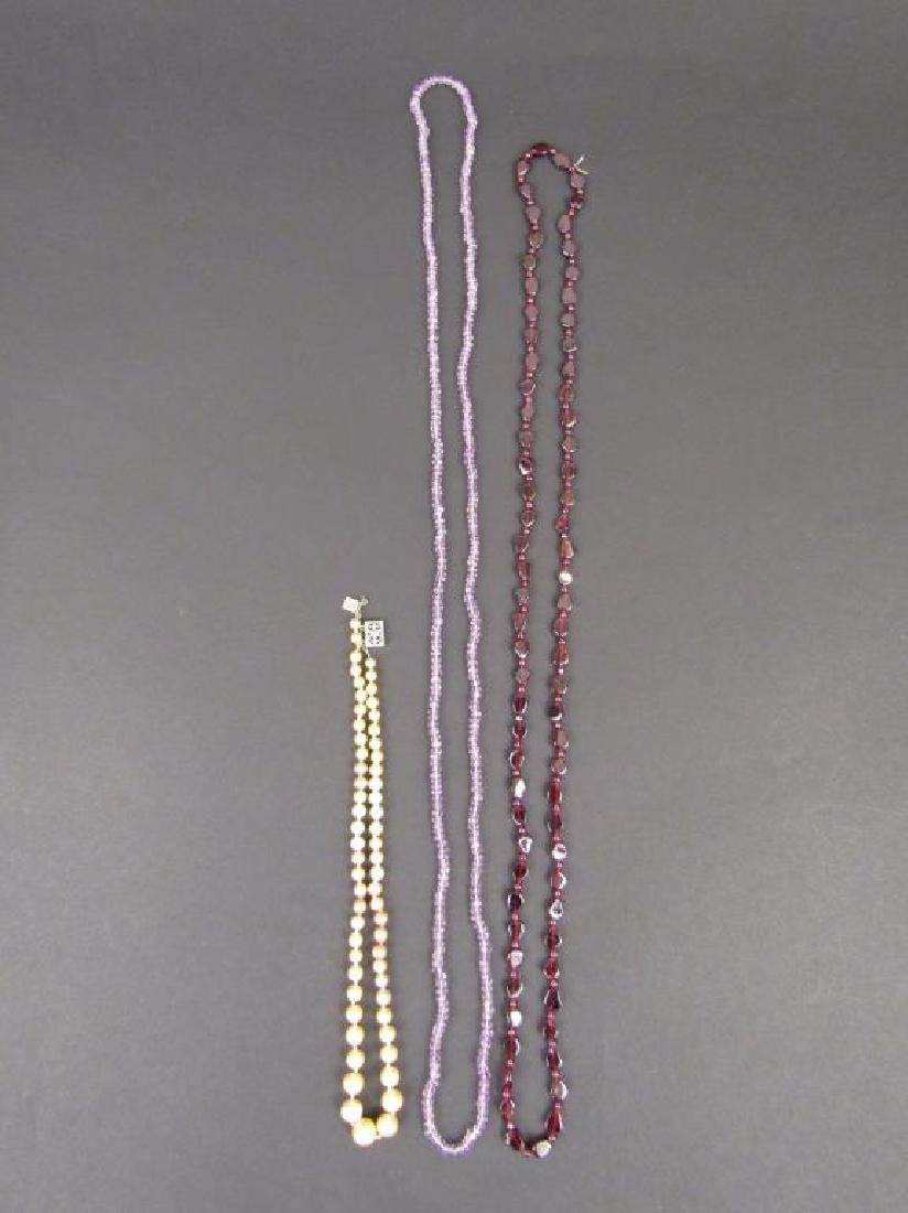Indian Twist Form Necklace and Assorted Jewelry - 3