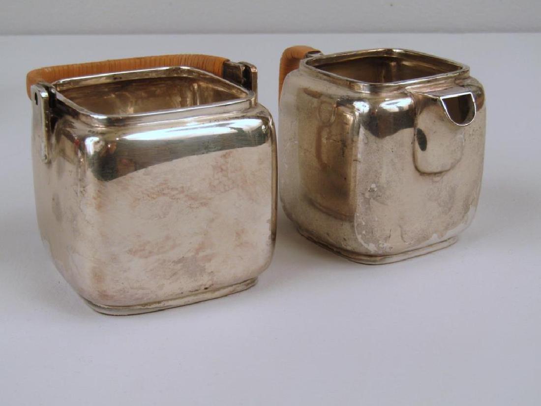 E. Dragsted Danish Sterling Silver Tea Set - 3