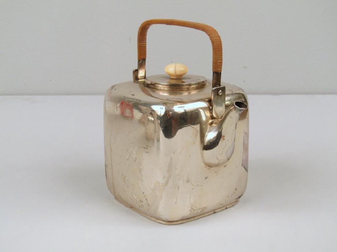E. Dragsted Danish Sterling Silver Tea Set - 4