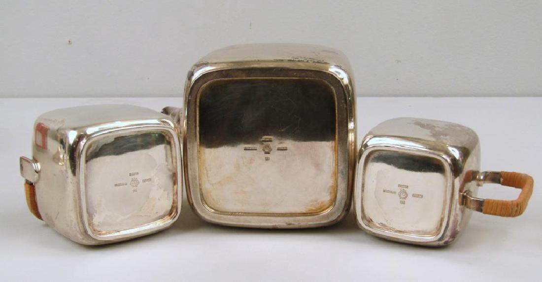 E. Dragsted Danish Sterling Silver Tea Set - 5