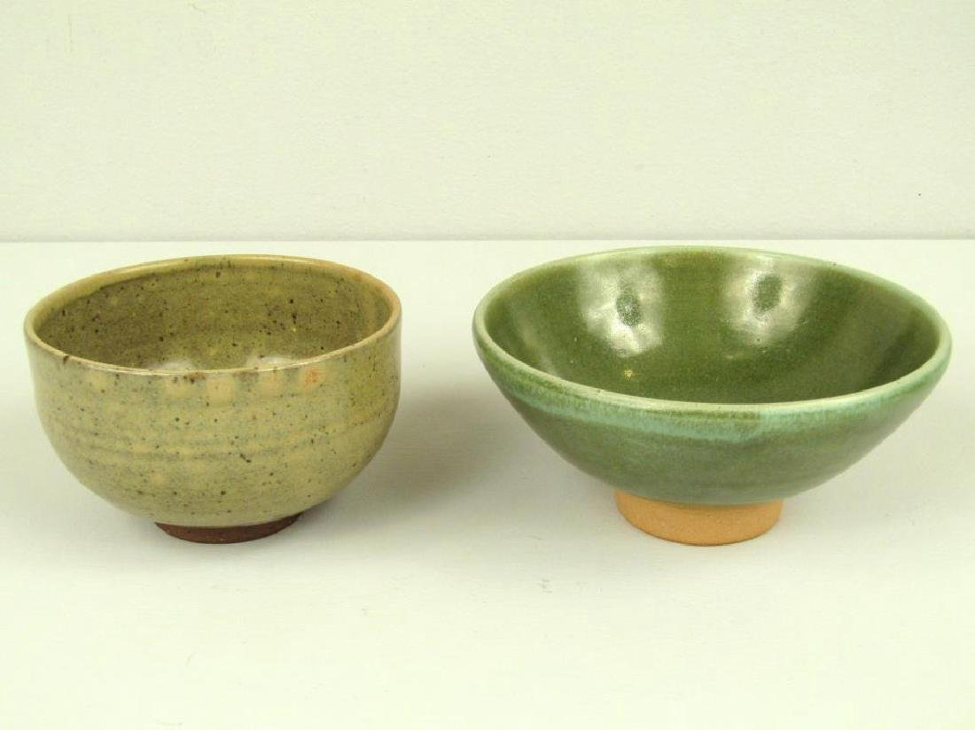 4 Japanese Glazed Ceramic Articles - 3
