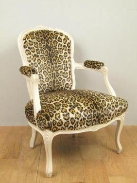 Louis XV Style Dressing Low Fauteuil