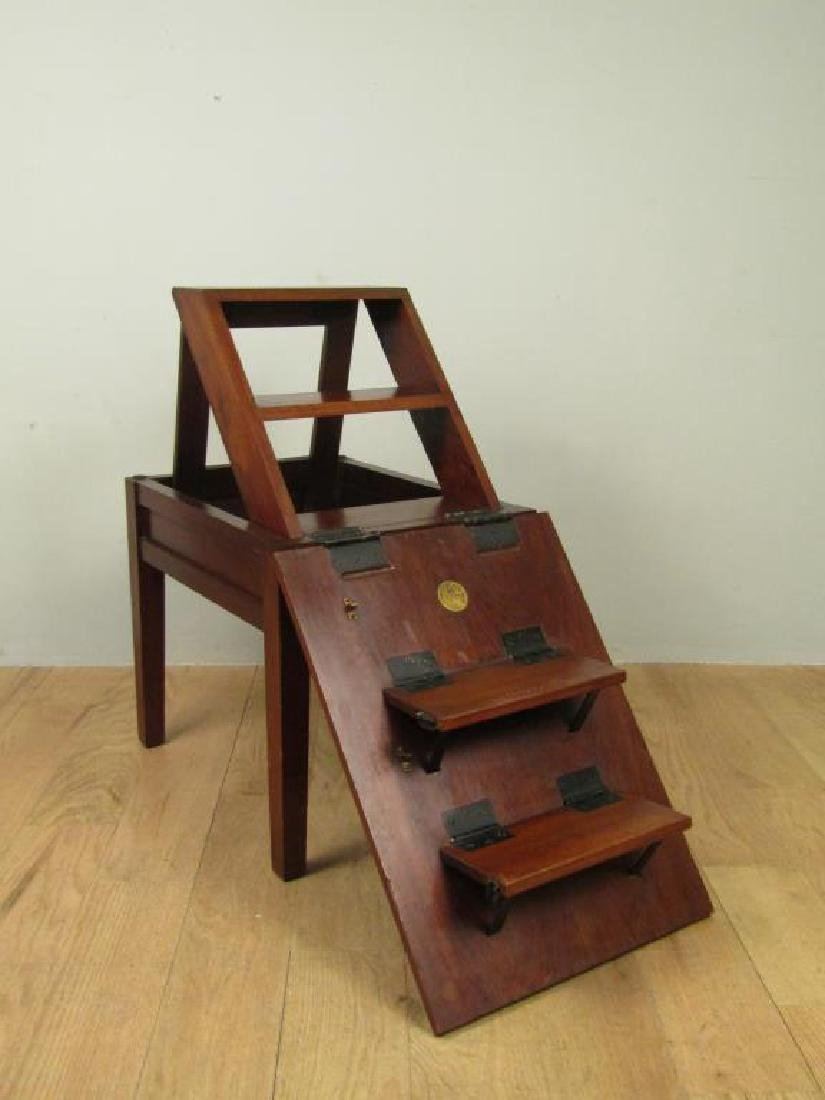Foster Brothers Library Ladder Table