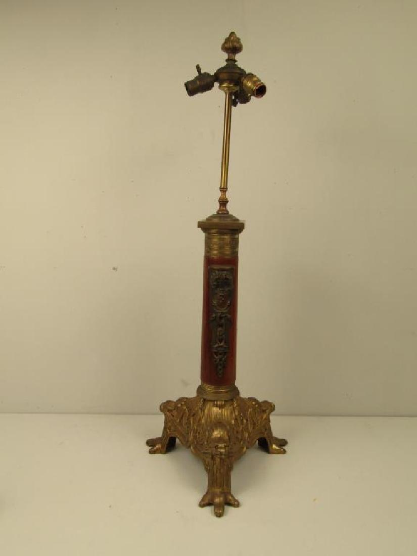 French Empire Tripod Lamp C. 1840