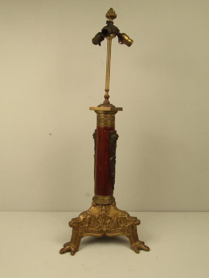 French Empire Tripod Lamp C. 1840 - 2