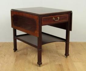 Henredon English Style Pembroke Table