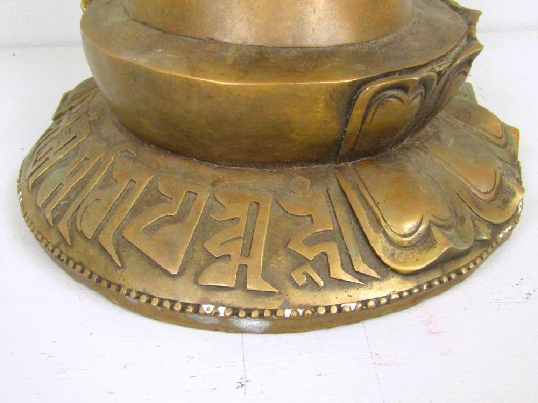 Chinese Bronze Hand Sculpture - 5