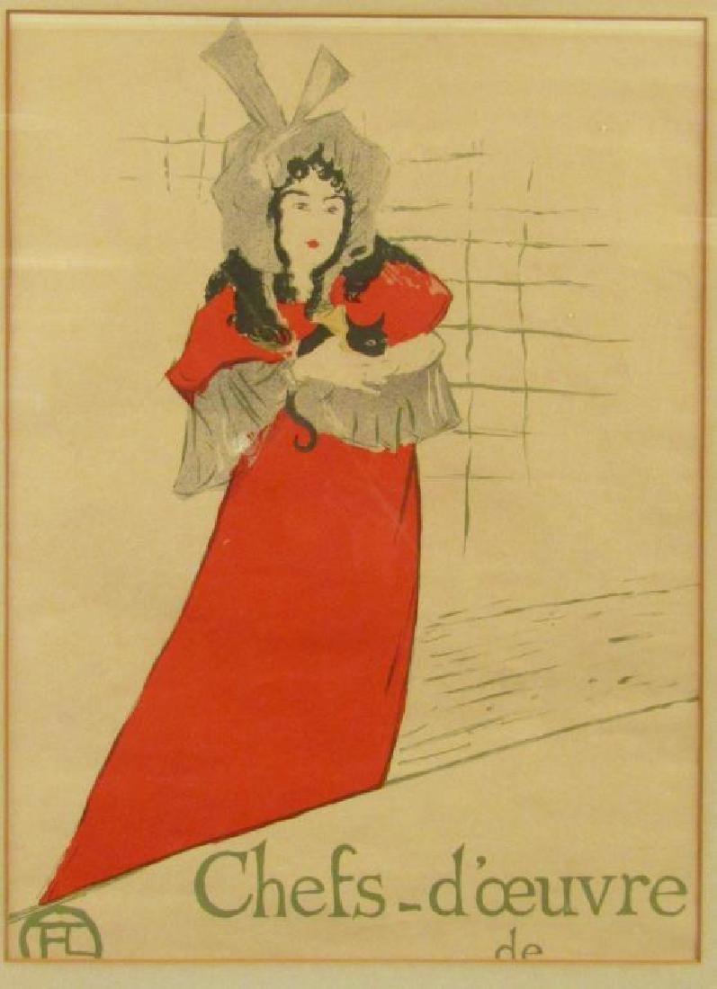 Toulouse Lautrec Lithoprint