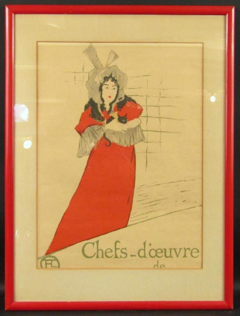 Toulouse Lautrec Lithoprint - 2