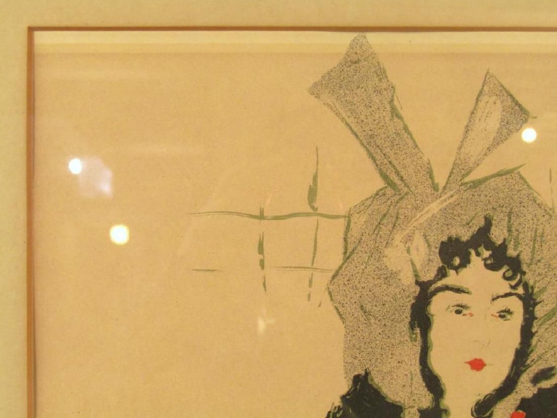 Toulouse Lautrec Lithoprint - 3