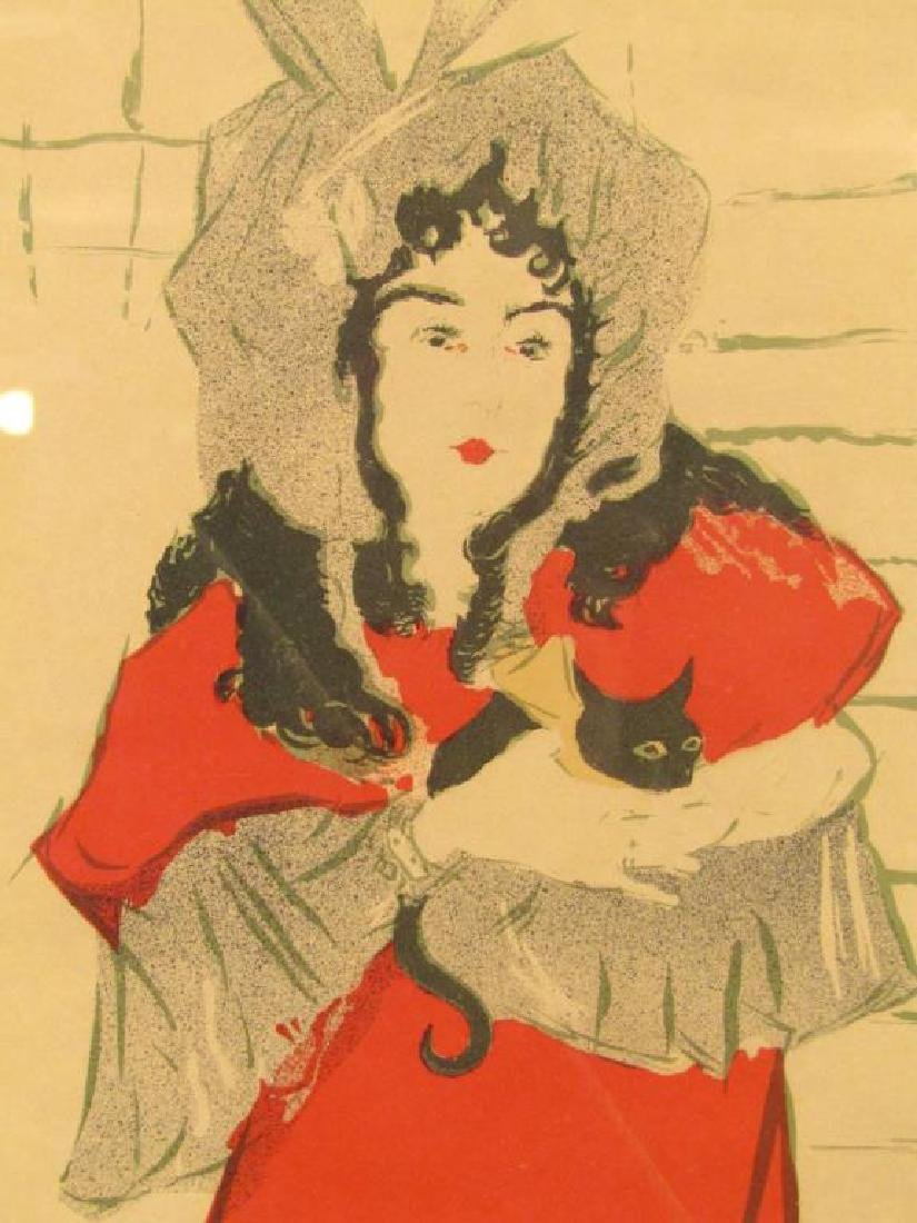 Toulouse Lautrec Lithoprint - 4