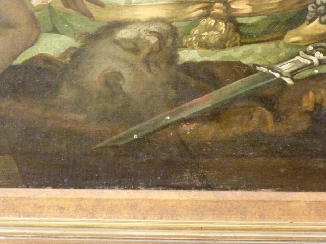 Austrian School Oil on Canvas - Court Scene - 5
