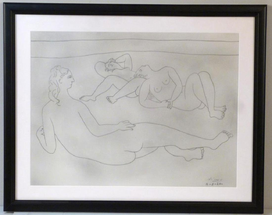 Pablo Picasso - Etching - 2