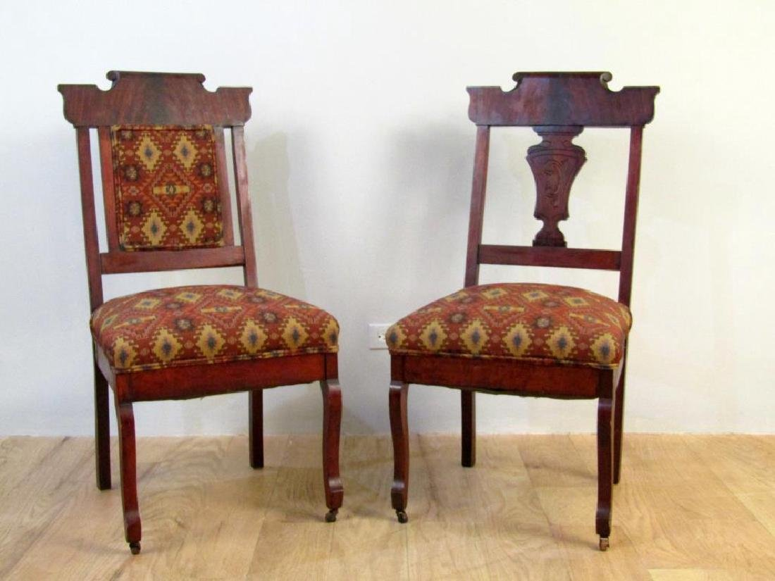 Set of Two Victorian Side Chairs