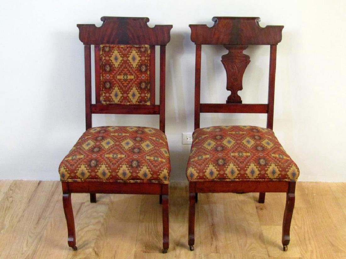 Set of Two Victorian Side Chairs - 2