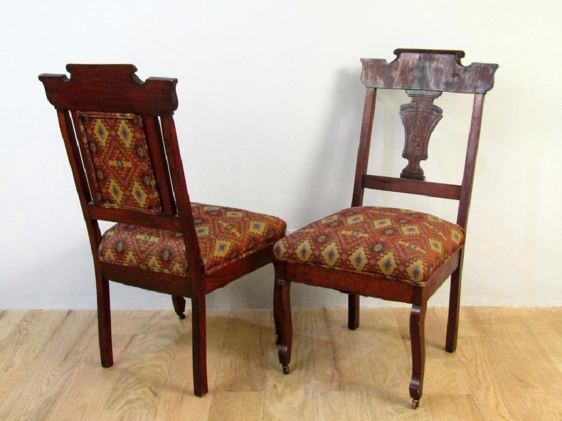 Set of Two Victorian Side Chairs - 3