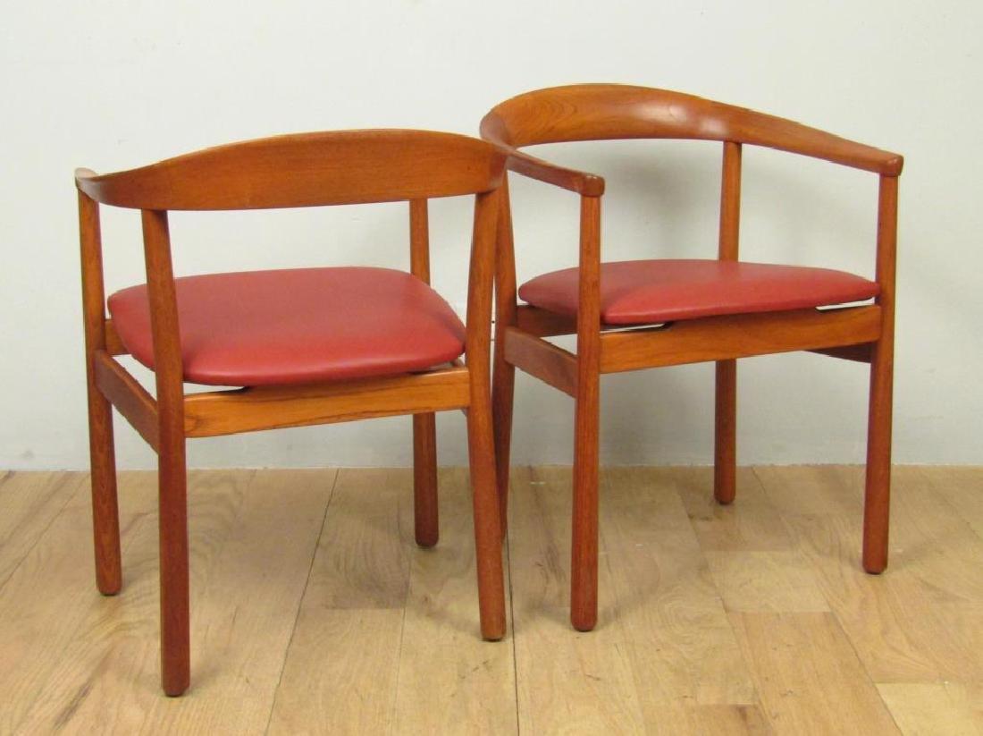 Pair Carl - Axel Acking Arm Chairs - 2