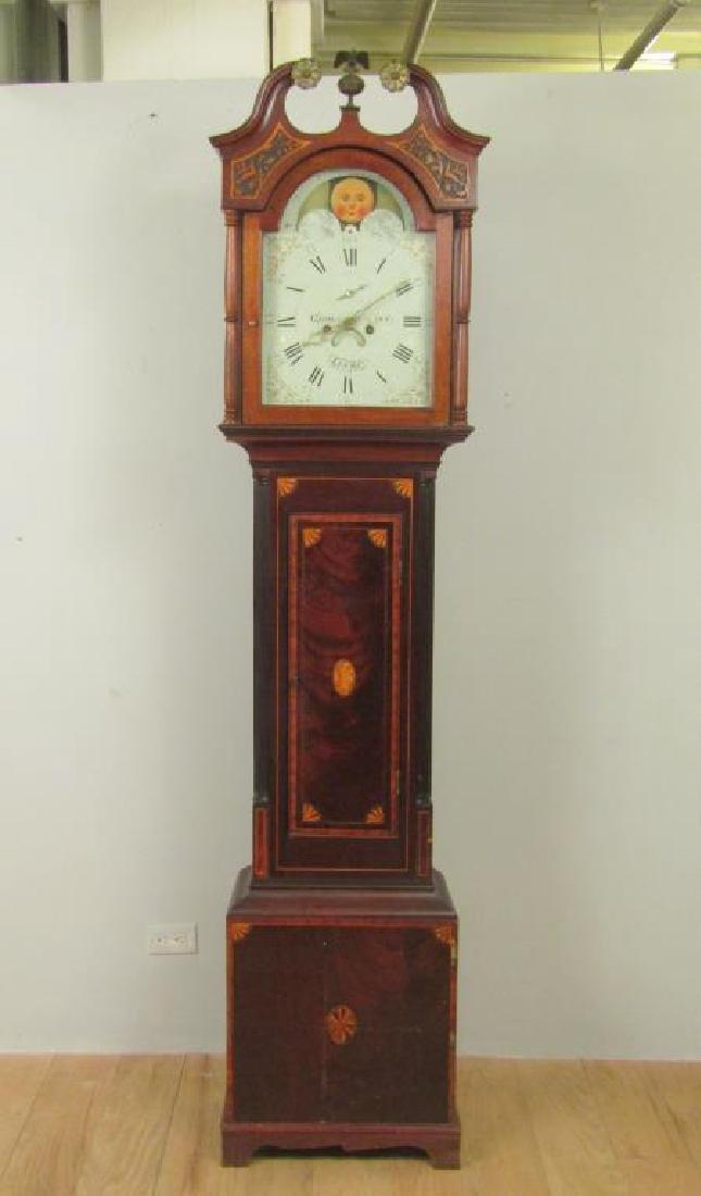 Antique English Tall Case Clock